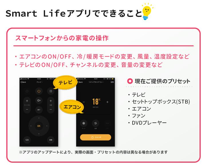Smart Lifeアプリでできること vol.1
